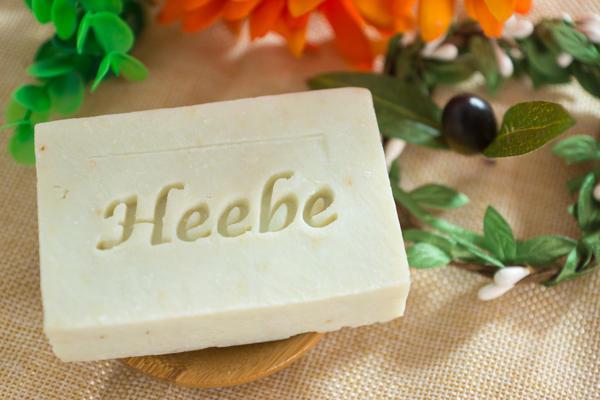 【HEEBE 希臘女神】洋甘菊手工初榨冷壓橄欖皂(封膜包裝) 1