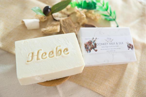 【HEEBE 希臘女神】深層滋潤組    (驢奶橄欖皂*1+摩洛哥薑黃橄欖皂*1) 2